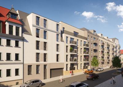 Wohnung mieten in der Laubestrasse Leipzig